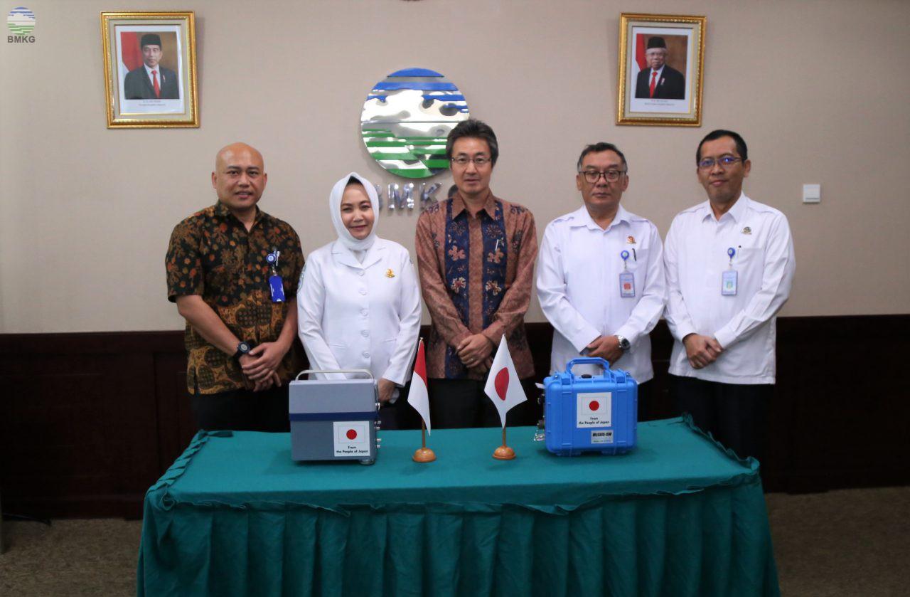 Pemerintah Jepang-Indonesia Lakukan Penguatan Pengurangan Dampak Risiko Bencana