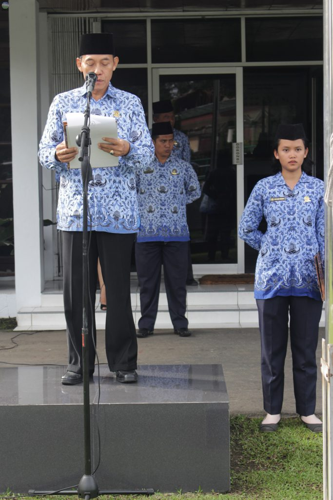 Upacara Peringatan HUT KORPRI ke 45 Tahun di BBW MKG Wilayah I Medan