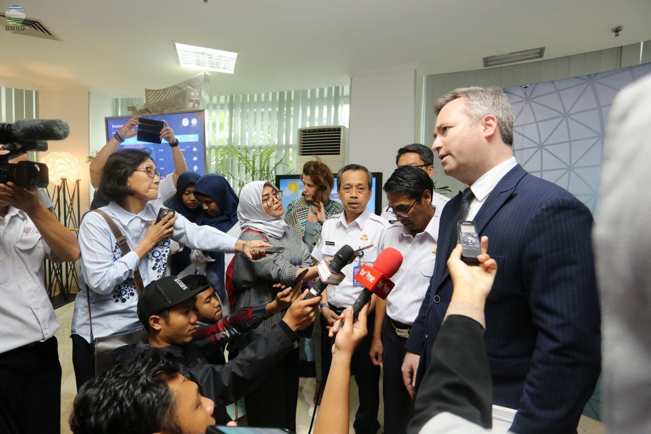 Indonesia-Perancis: Tingkatkan Layanan Informasi Cuaca untuk Laut