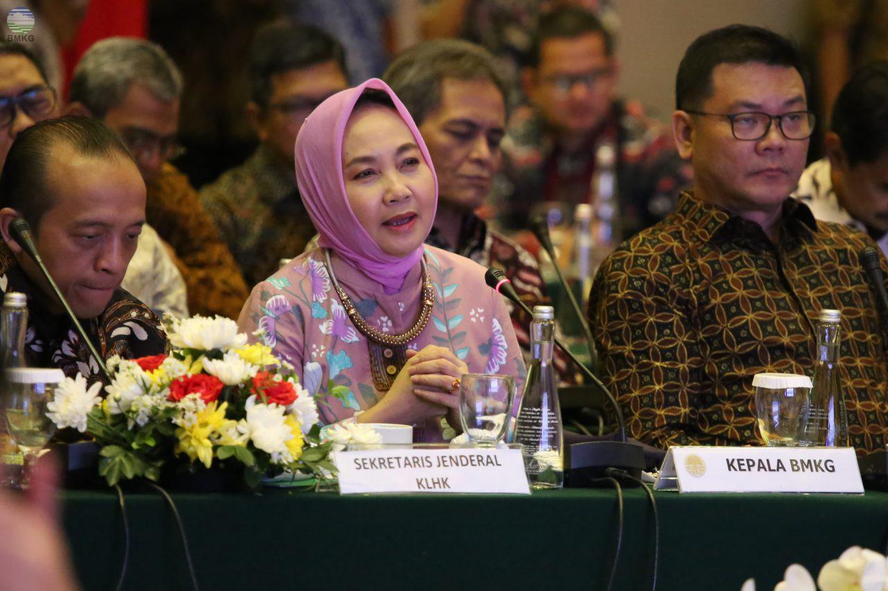 Kepala BMKG Hadiri Rakorsus Terkait Peningkatan Pengendalian Karhutla 2020