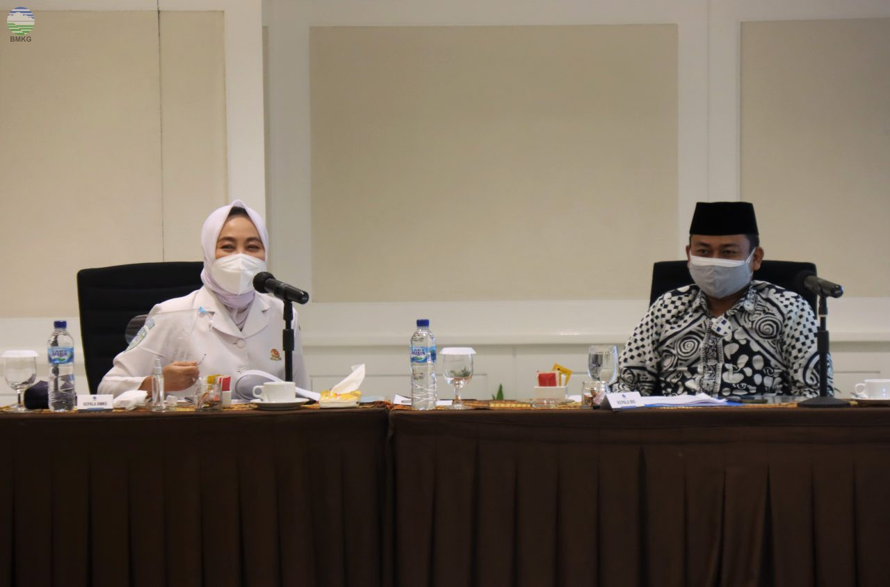 BMKG-BIG-Premprov DIY-Kraton Yogyakarta Gelar Pertemuan, Bahas Analisis Pemetaan Cepat Kawasan Gunung Merapi