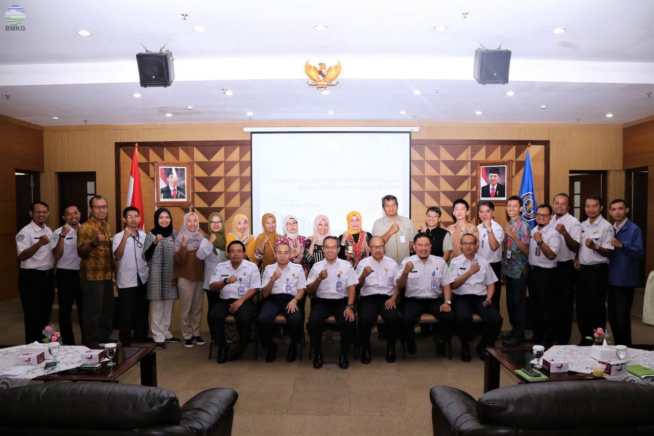 BMKG Gelar Bimtek Pemahaman Informasi Iklim untuk Sektor Perekonomian dan Industri