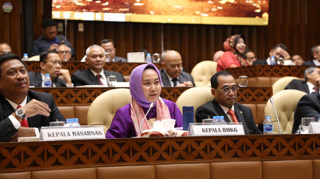 Komisi V DPR RI Setujui Alokasi Anggaran BMKG Tahun 2020 Sebesar Rp 3,056 T
