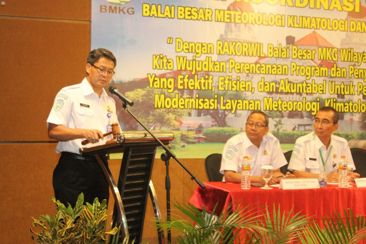 Rapat Koordinasi Wilayah Balai Besar Wilayah II Tahun 2017