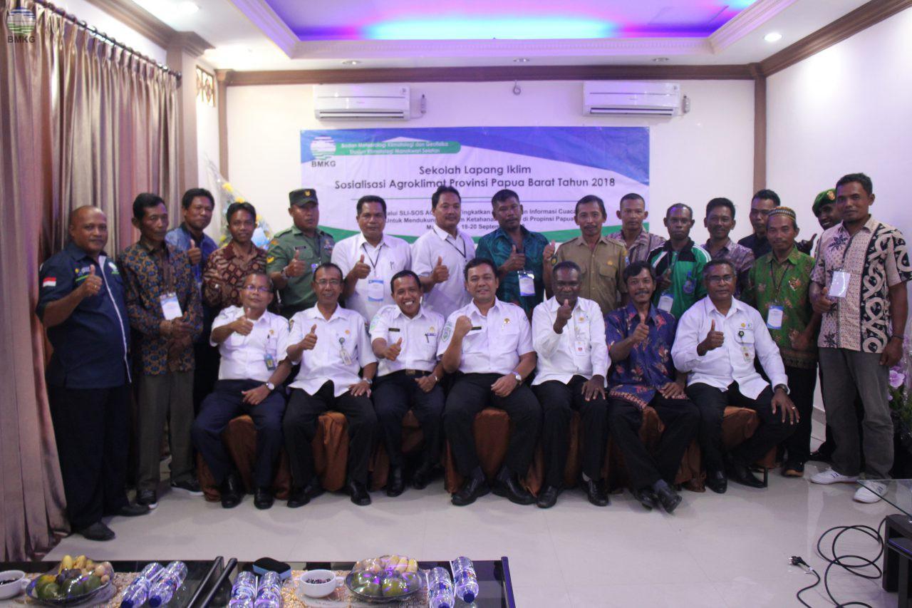 Sosialisasi Agroklimat Oleh Staklim Manokwari Selatan