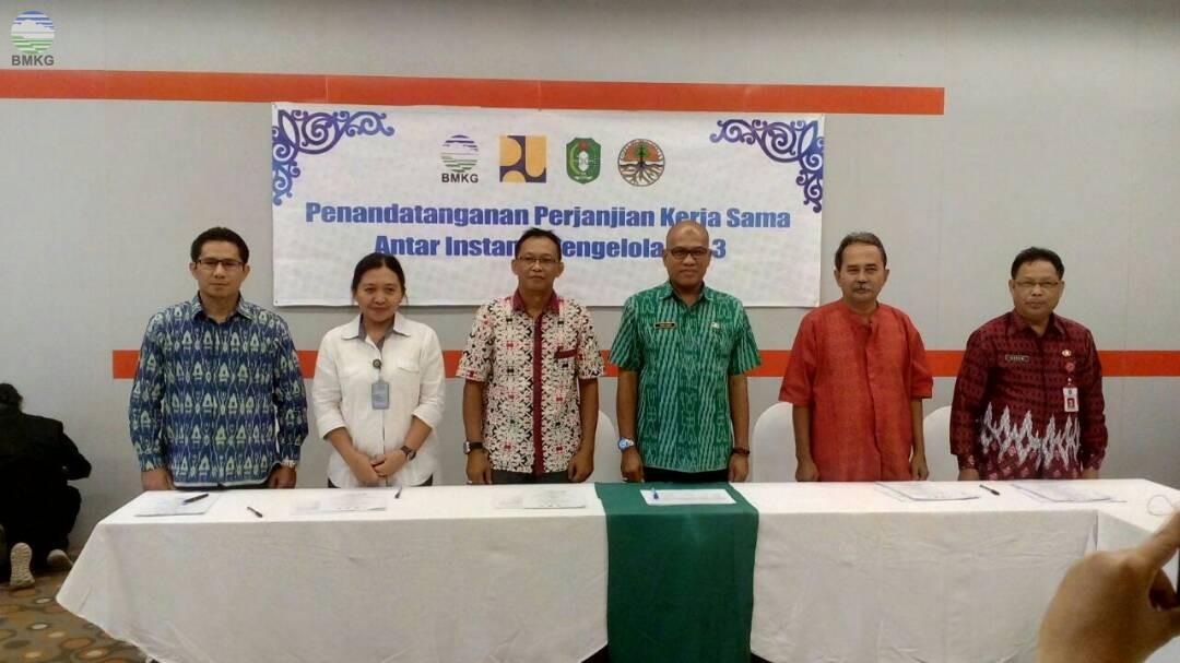 Kerjasama antar Instansi Penyelenggara SIH3 Provinsi Kalimantan Barat
