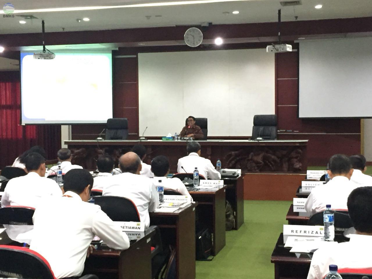 Dr. Widada Sulistya, DEA Bekali Peserta PPRA LVII Lemhanas RI Tahun 2018 Terkait Perubahan Iklim
