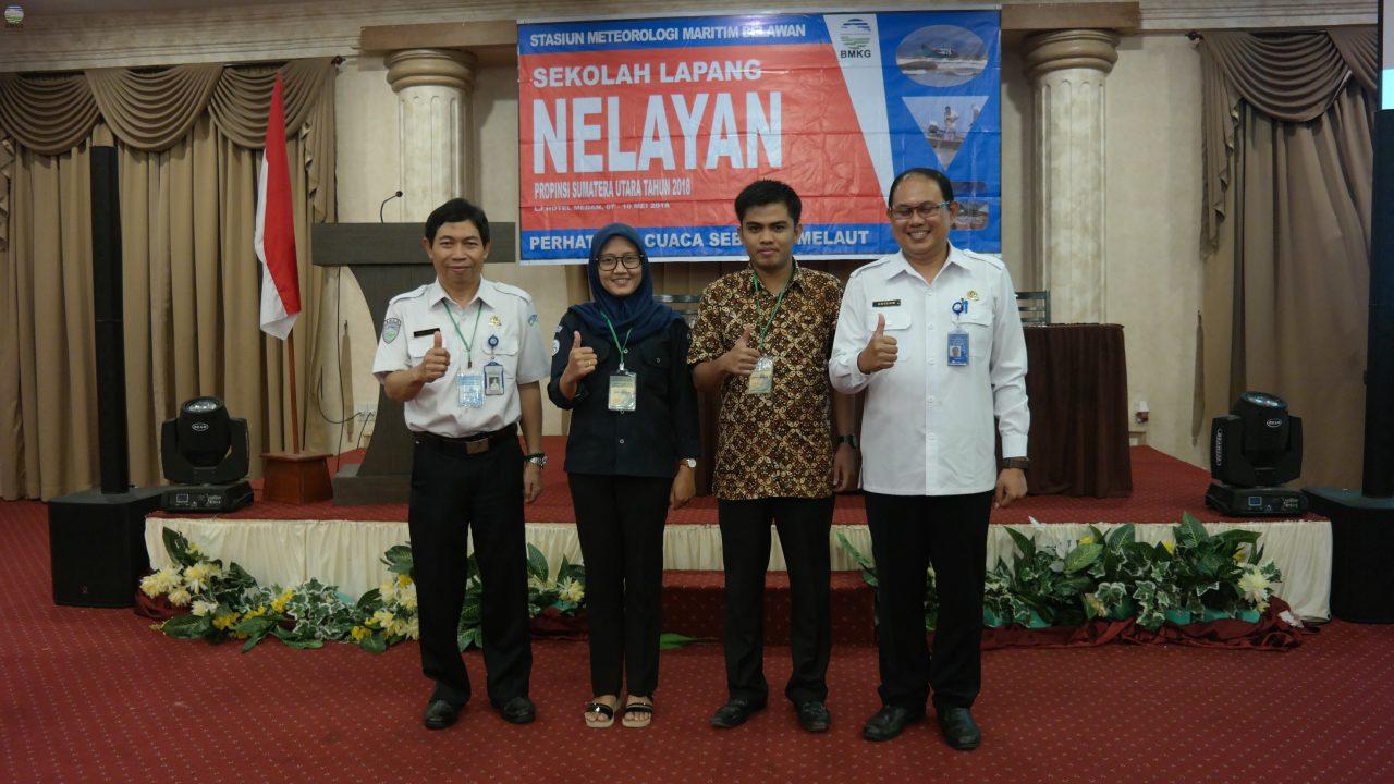 Dukungan BMKG Bagi Para Nelayan Provinsi Sumatera Utara Perihal Pemahaman Informasi Cuaca Dan Iklim