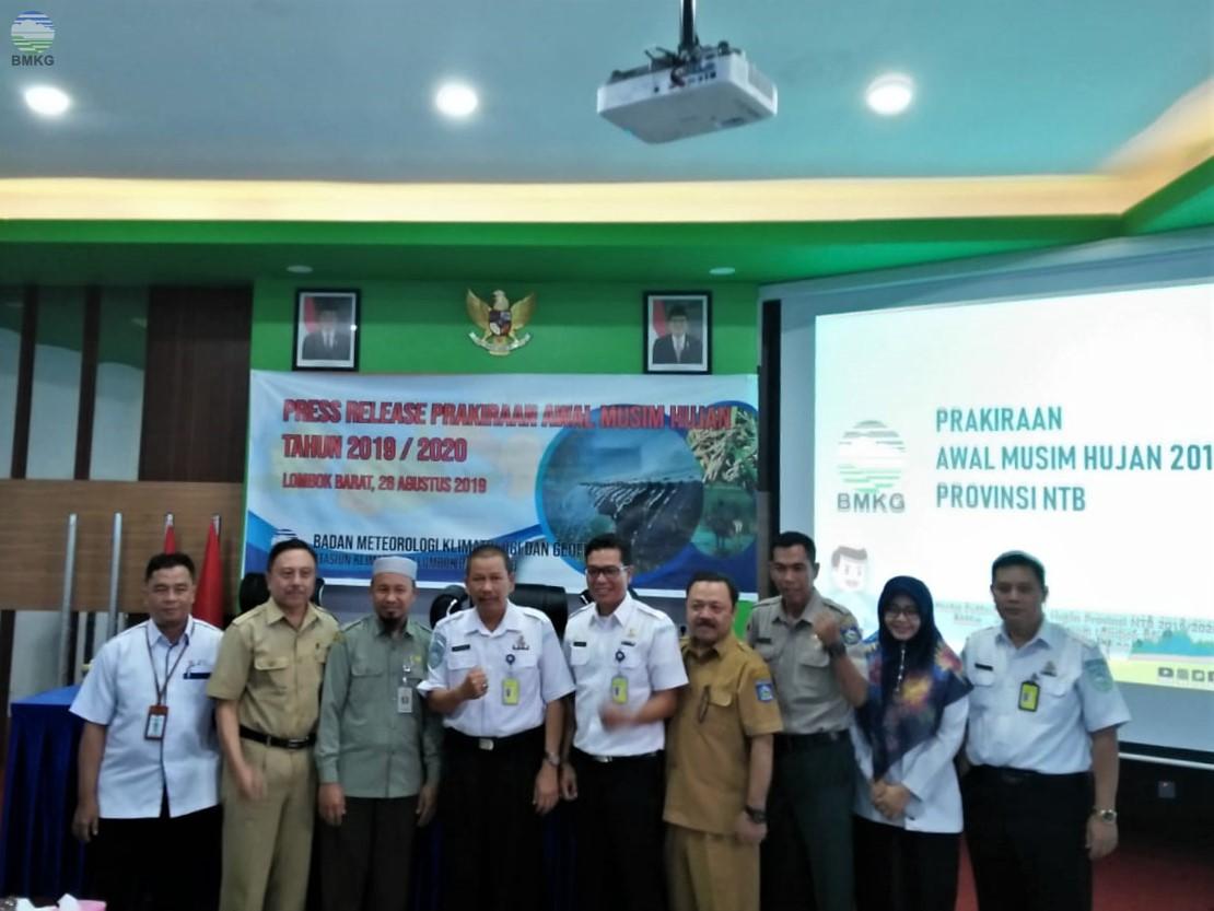 Prakiraan Awal Musim Hujan Tahun 2019/2020 Wilayah Provinsi Nusa Tenggara Barat
