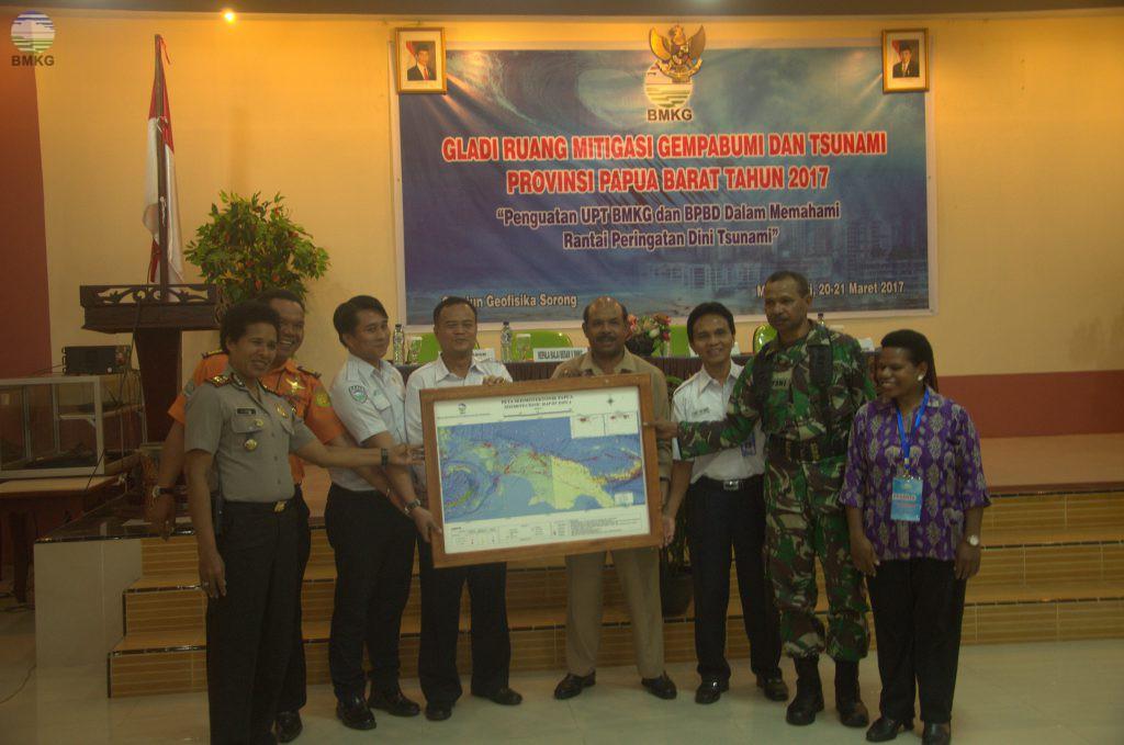 Stasiun Geofisika Sorong Menyelenggarakan Gladi Ruang Mitigasi Gempabumi dan Tsunami di Manokwari