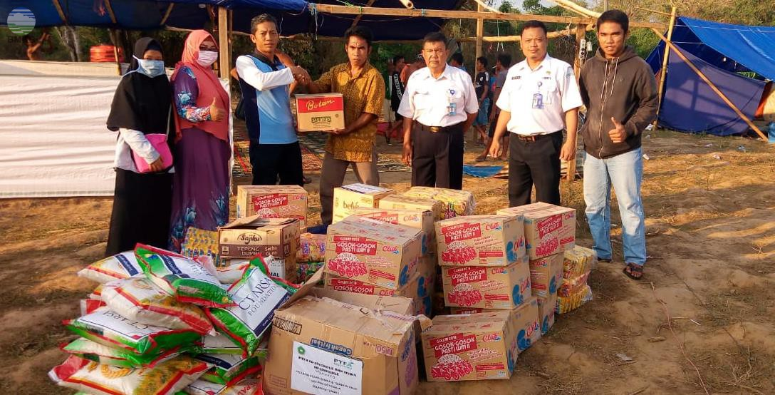 Stamet Mutiara Sis Al-Jufri Palu Meringankan Beban Para Pengungsi Korban Bencana Gempa Bumi dan Tsunami.