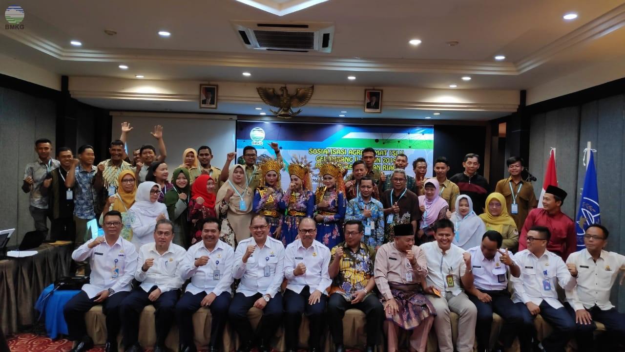 Sekolah Lapang Iklim - Sosialisasi Agroklimat Gelombang II Tahun 2019 Provinsi Kepulauan Riau