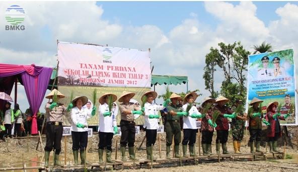 Sekolah Lapang Iklim Tahap 3 Provinsi Jambi