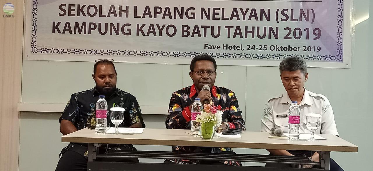 Sekolah Lapang Nelayan Inovasi Perangkat Pemerintah Kampung Kayu Batu Kota Jayapura