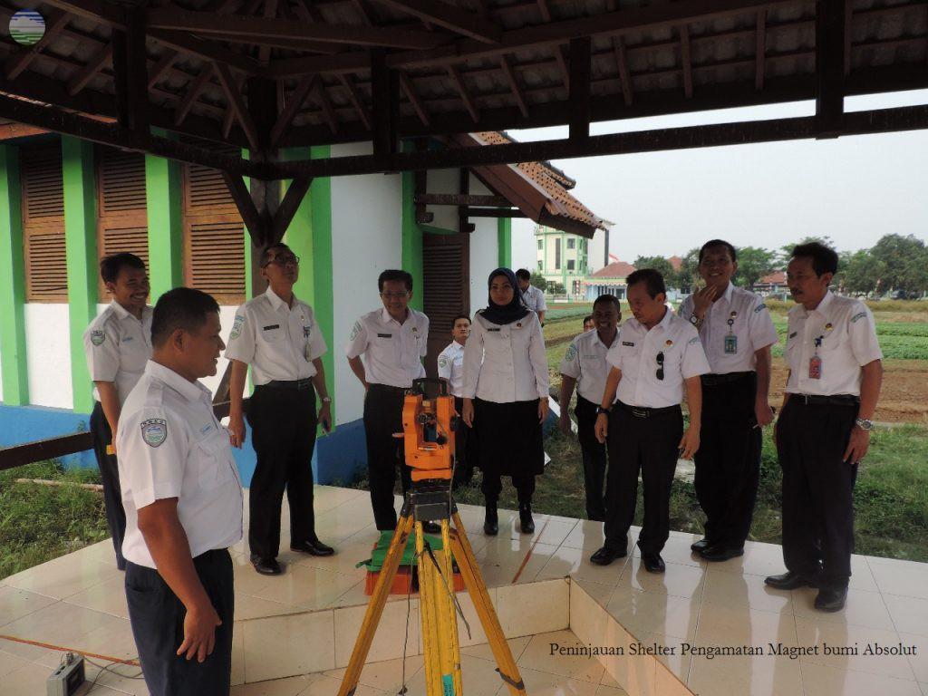 Kunjungan Deputi Bidang Geofisika ke Stasiun Geofisika Klas I Tangerang