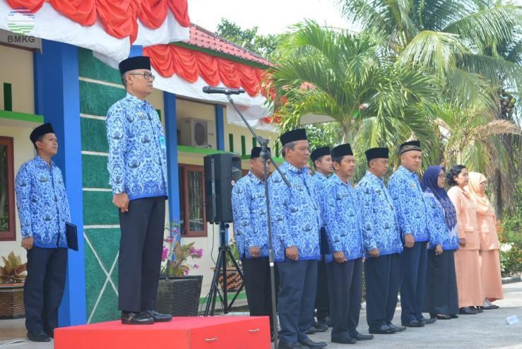 Peringatan HUT ke-73 Kemerdekaan Republik Indonesia di Lingkungan BMKG Sumatera Barat