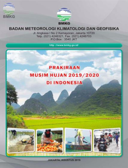 Prakiraan Musim Hujan Tahun 2019/2020 di Indonesia