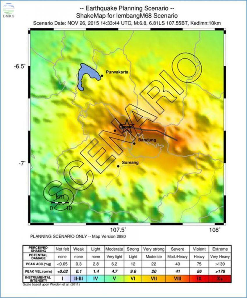 Penjelasan BMKG Terkait Hasil Kajian Sesar Lembang yang Berpotensi Memicu Gempa Berkekuatan M=6.8