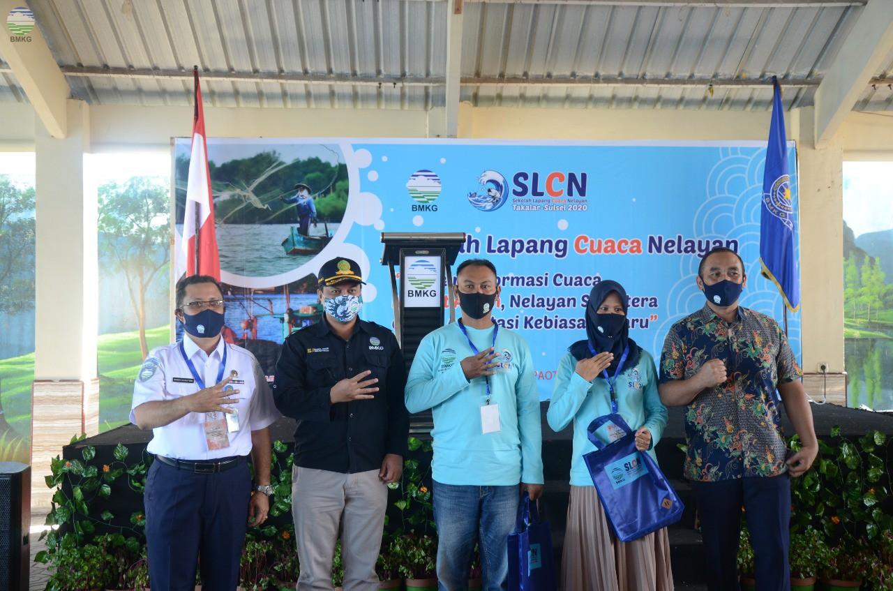 Sekolah Lapang Cuaca Nelayan di Kabupaten Takalar