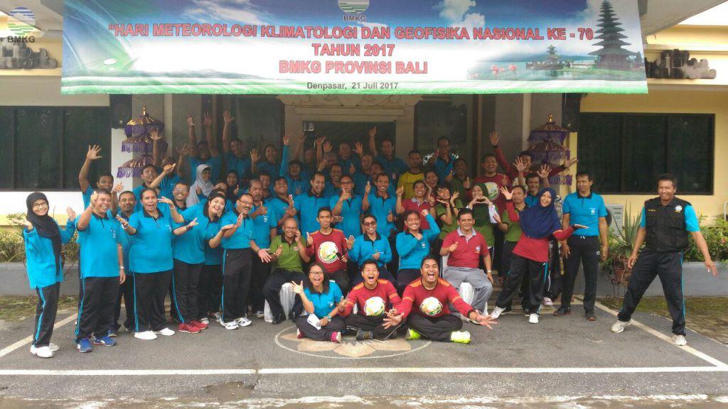 Peringatan HMKGN ke-70 UPT BMKG se-Provinsi Bali