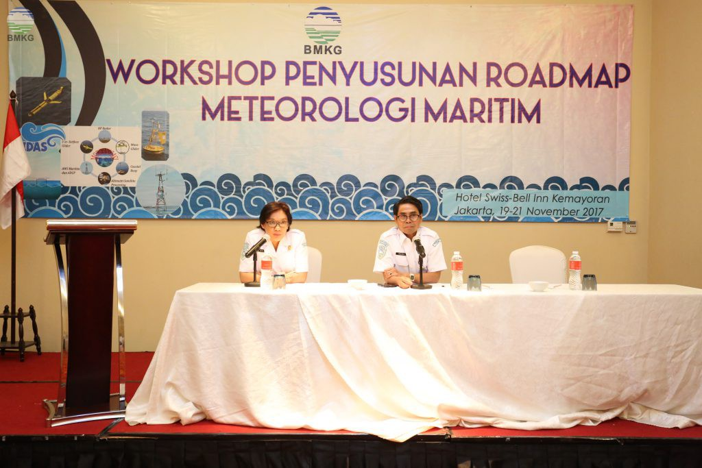 Workshop Penyusunan Roadmap Meteorologi Maritim