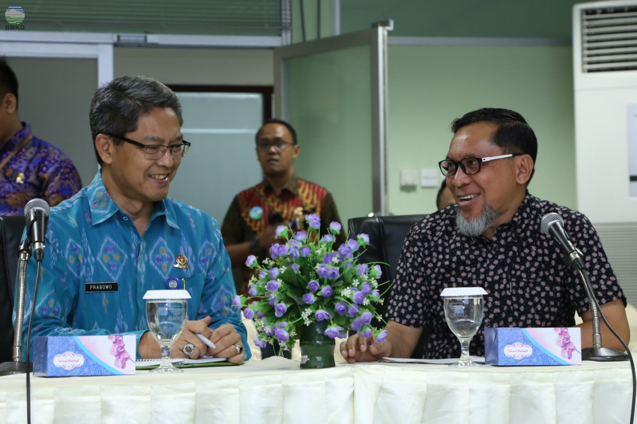 Komisi IV DPRD Provinsi Gorontalo Visitasi Ke BMKG