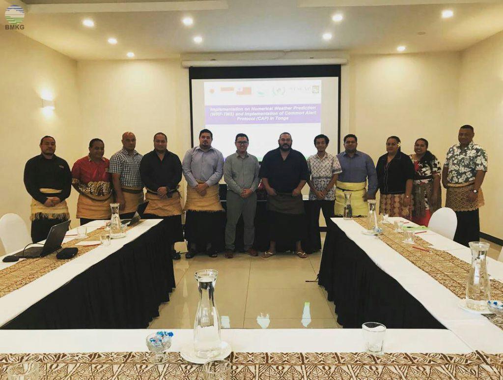 BMKG Bantu Tonga Dalam Meningkatkan Sistim Peringatan Dini