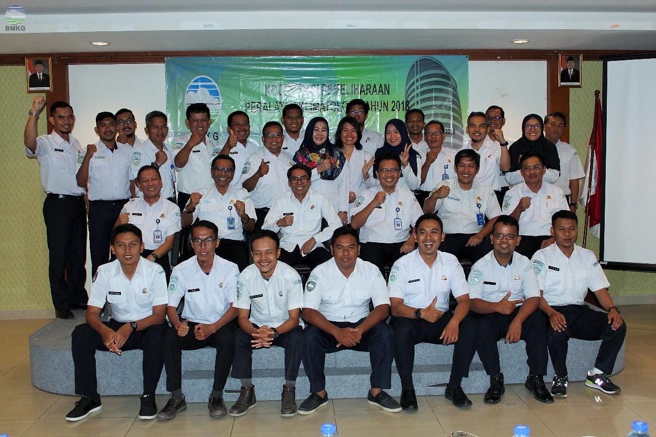 Deputi Inskalrekjarkom Buka Pelatihan Pemeliharaan dan Kalibrasi Peralatan BMKG
