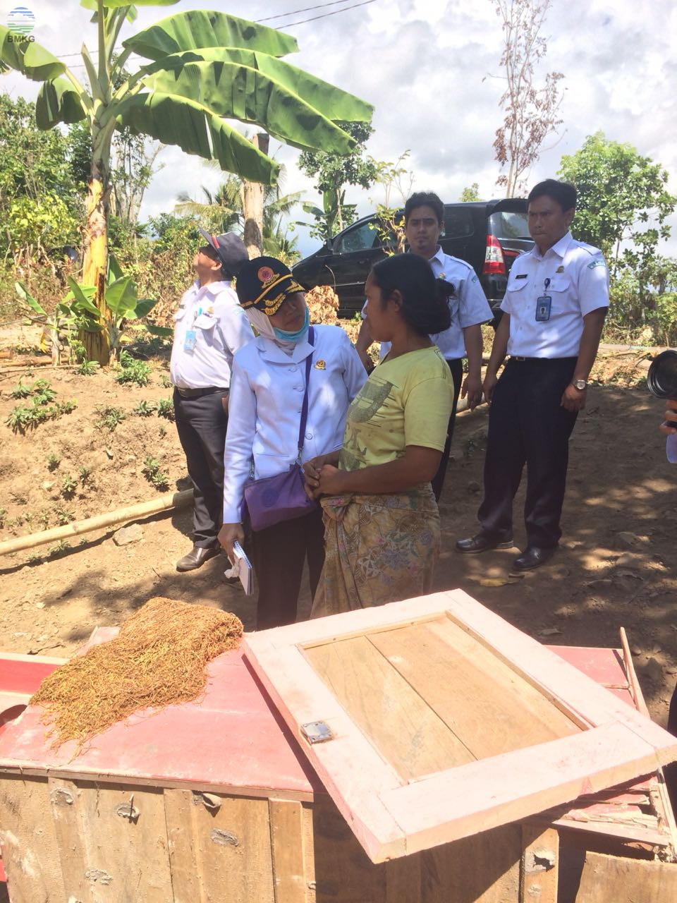 Gempabumi Lombok, Tinggalkan Coretan