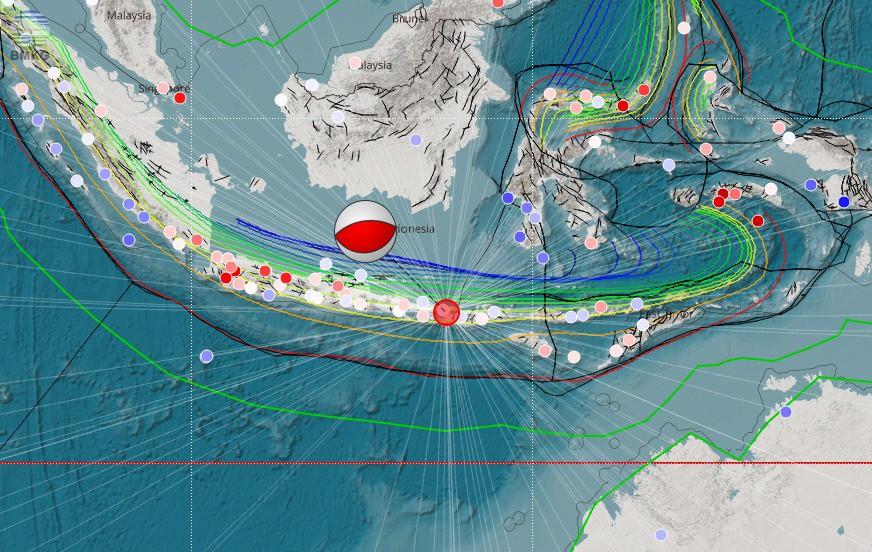 Gempabumi Tektonik M=6,2 Mengguncang Pulau Lombok, Tidak Berpotensi Tsunami