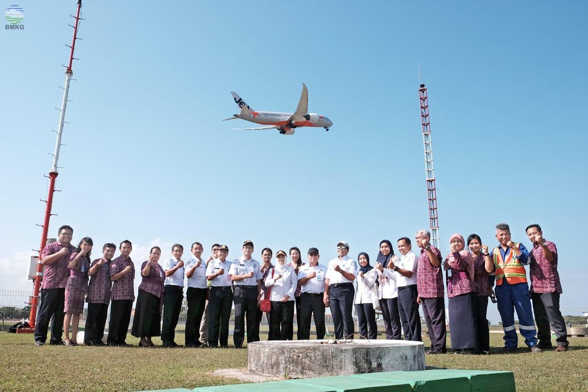 BMKG Inovasi 4.0 Siap Kawal Pertemuan IMF dengan Lompatan Keselamatan Penerbangan