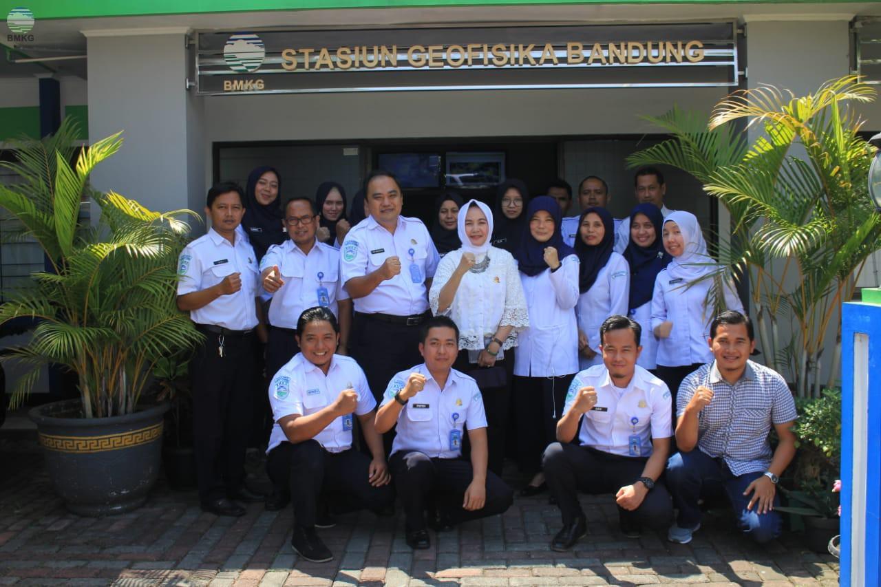 Kunjungan Kepala BMKG di Bandung