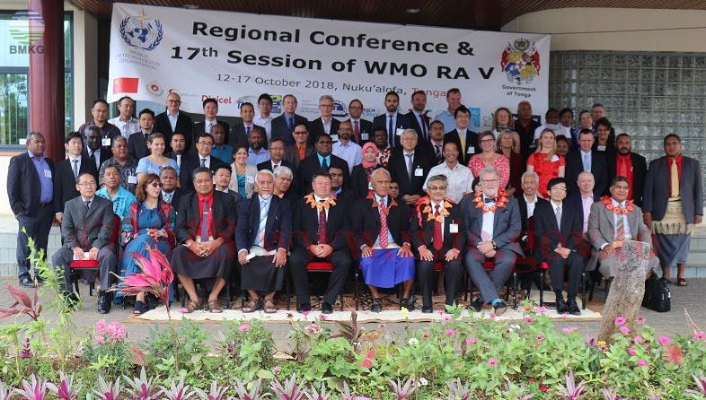 Seventeenth Session of Regional Association V WMO Meeting