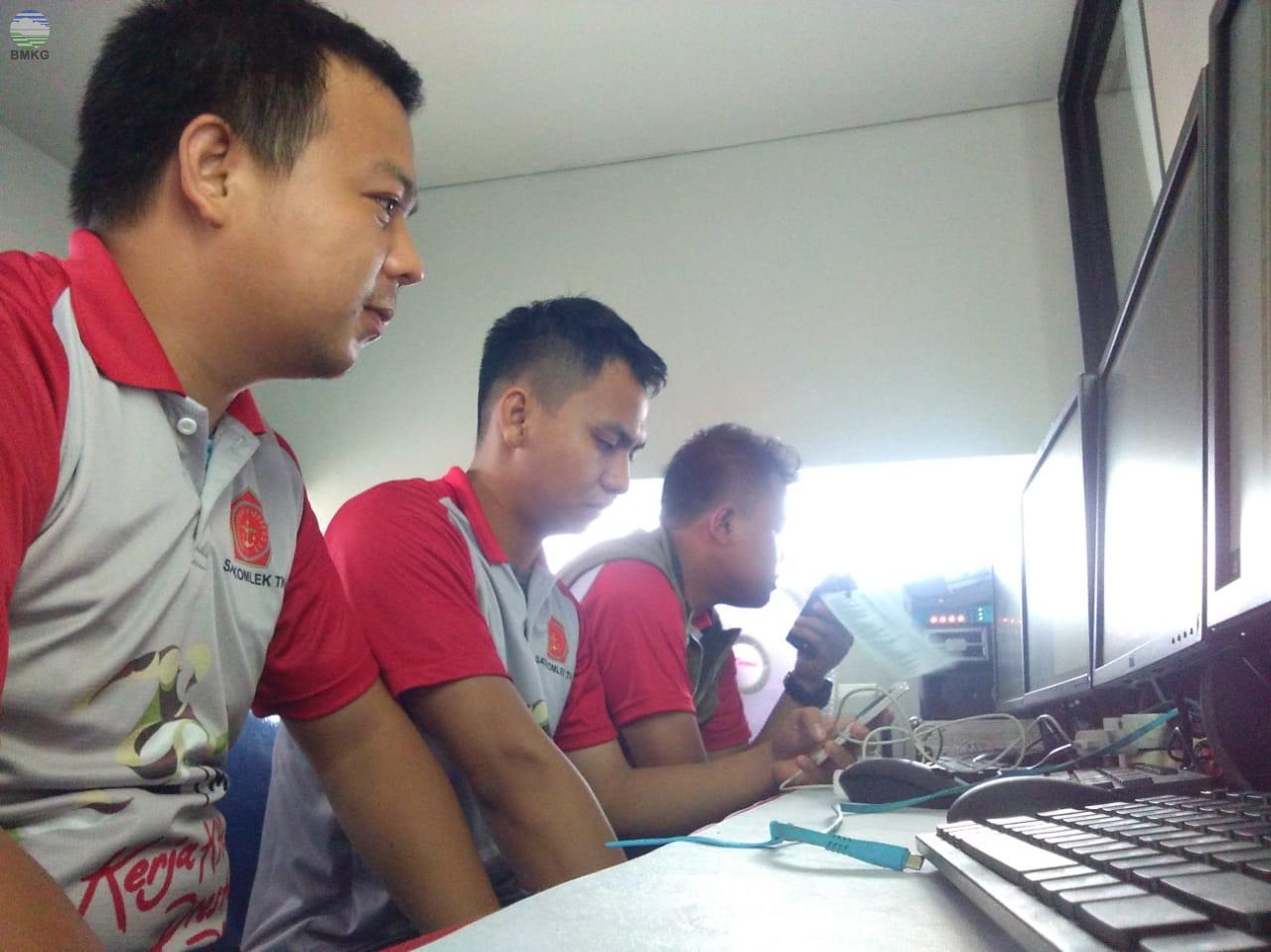 Partisipasi BMKG Stasiun Geofisika Mataram dalam HUT TNI