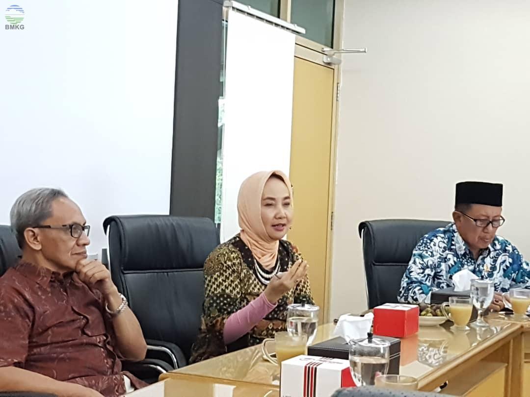 Rapat Koordinasi BMKG - PP Muhammadiyah