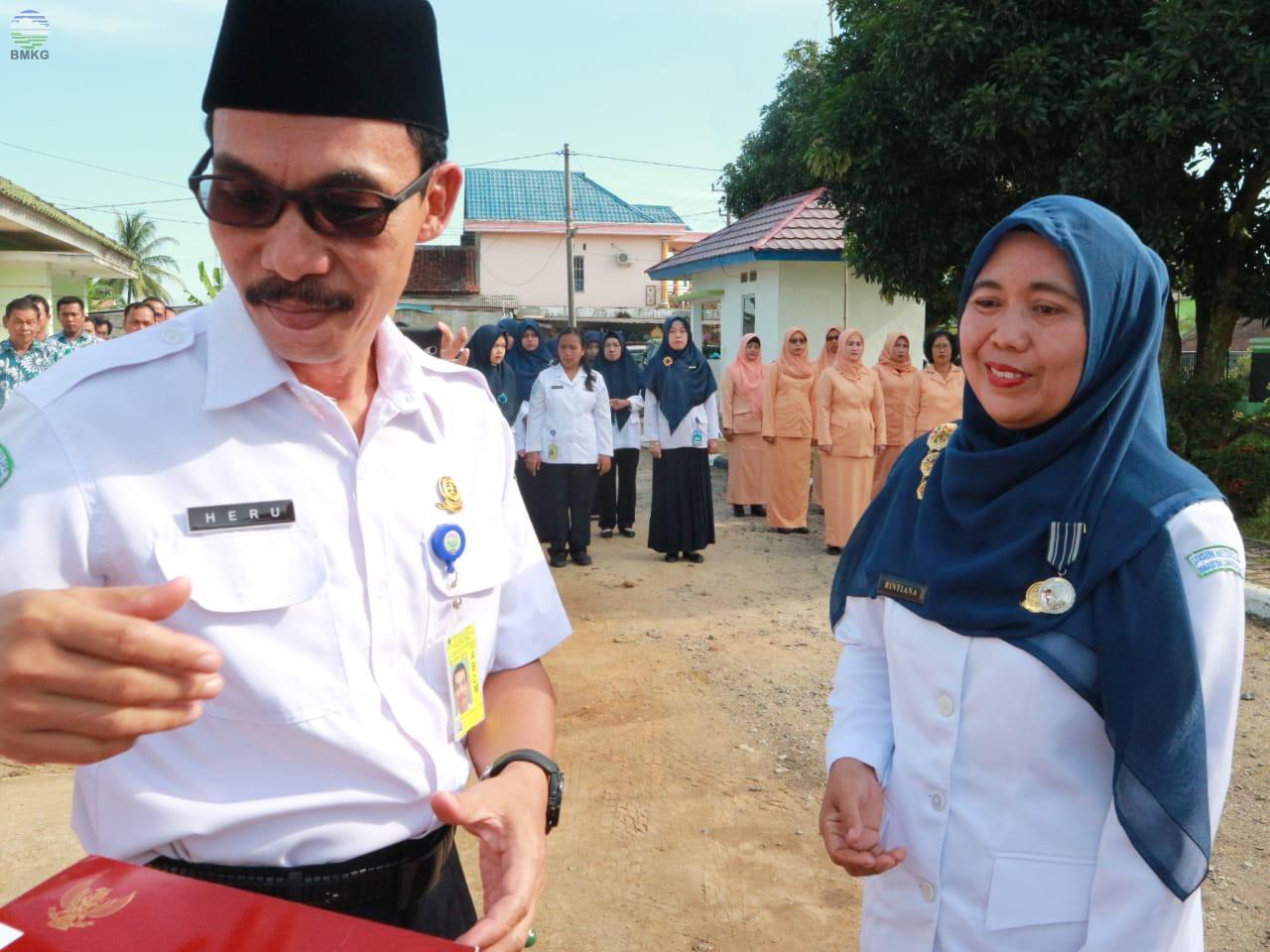 Peringatan HMD ke 69 Tahun dan Pisah Sambut Kasklim Pesawaran Lampung