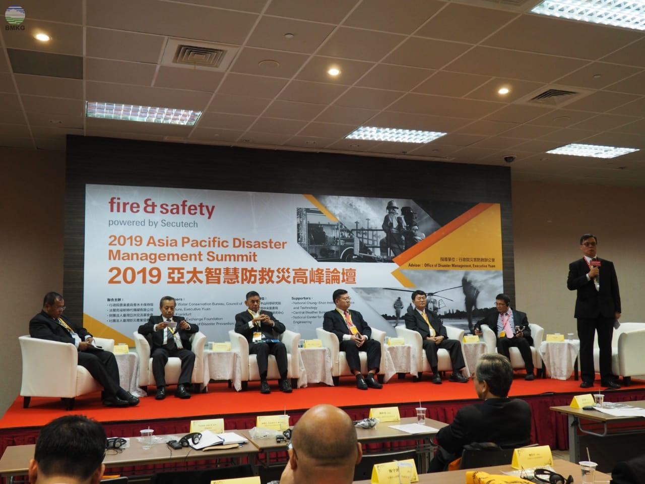 2019 Asia-Pacific Smart Disaster Management Summit, Manajemen Pencegahan Bencana yang Lebih Cerdas dan Efisien