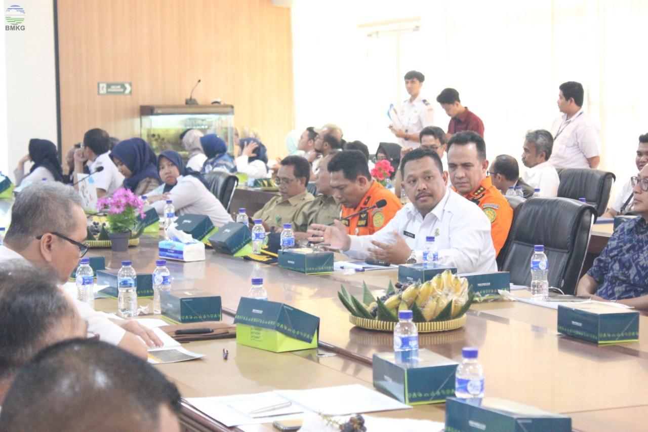 Kepala Balai Besar MKG Wilayah II Sampaikan Kesiapan BMKG dalam Menunjang Operasional Bandara Kulon Progo