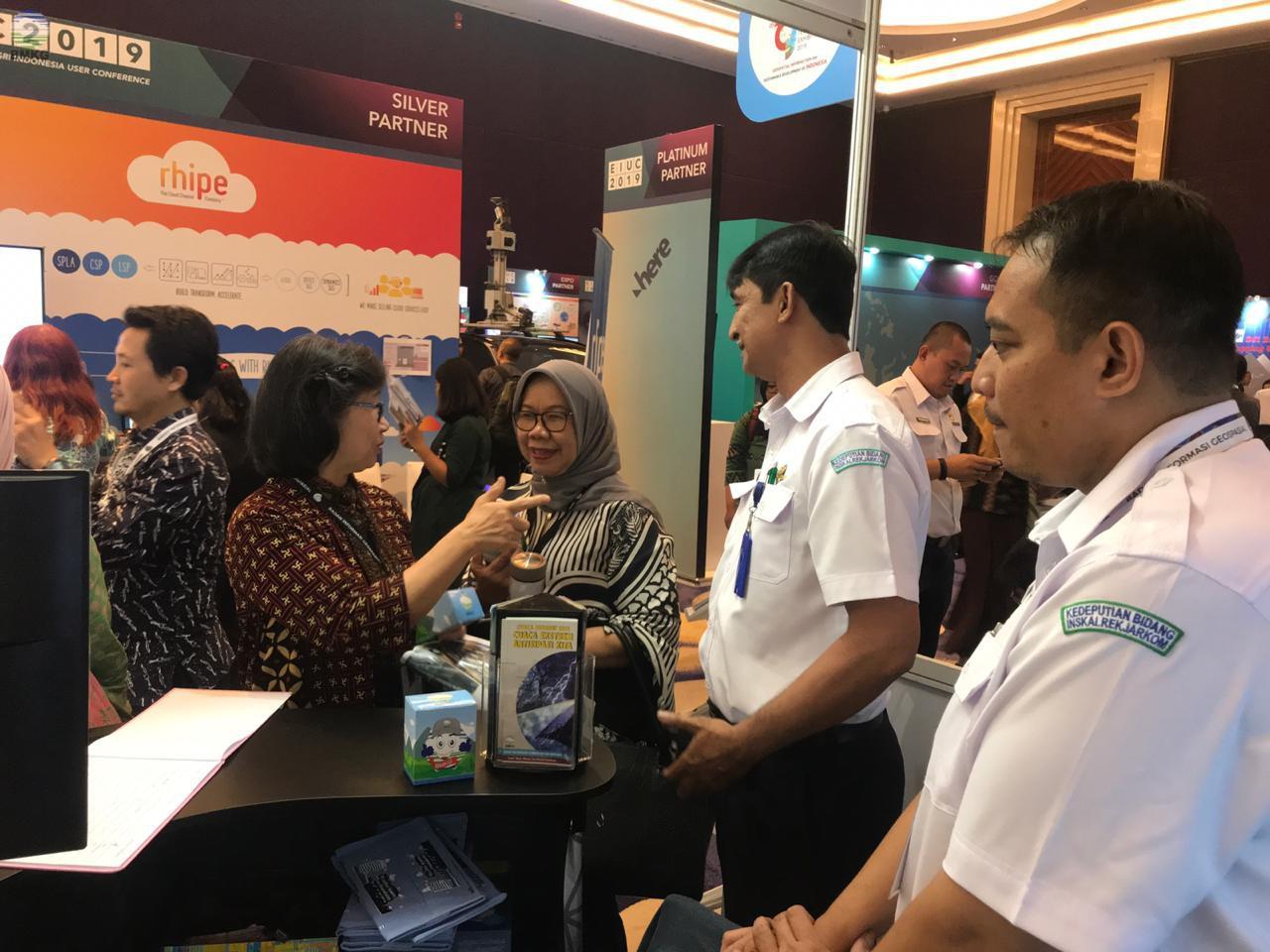 BMKG Berperan Aktif dalam Kegiatan Indonesia Geospatial Technology Exhibition - IGTE 2019