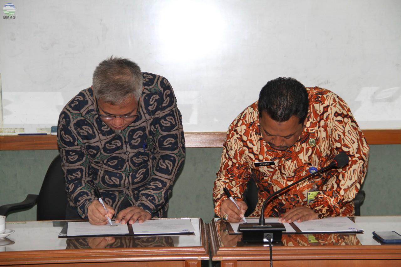 BBMKG Wilayah II Mengadakan Workshop Konten Repositori Ilmiah Nasional (RIN)