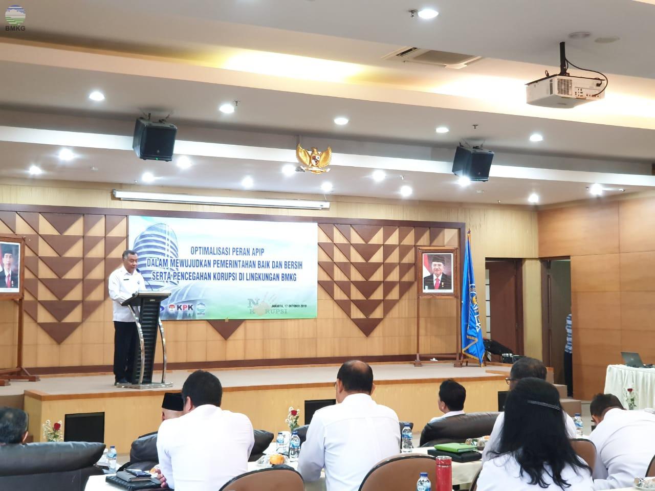 Gelar Pengawasan Inspektorat BMKG Demi Wujudkan Clean and Good Governance