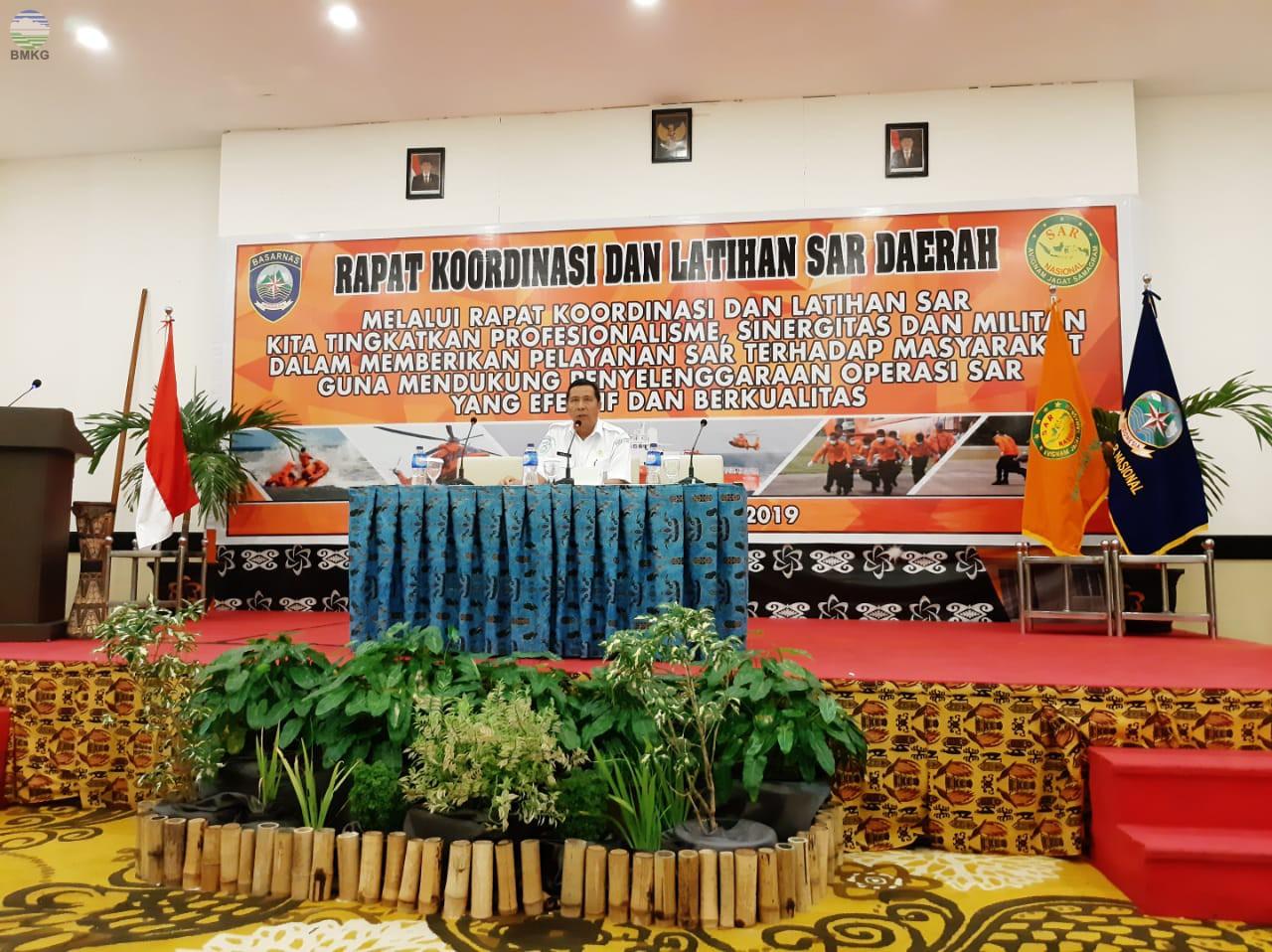 Rapat Koordinasi dan Latihan SAR Daerah
