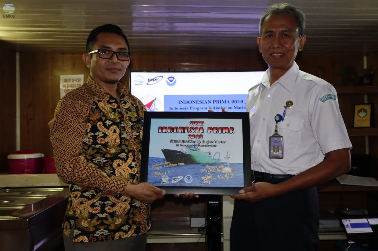 Penyambutan Tim Ekspedisi Indonesia PRIMA