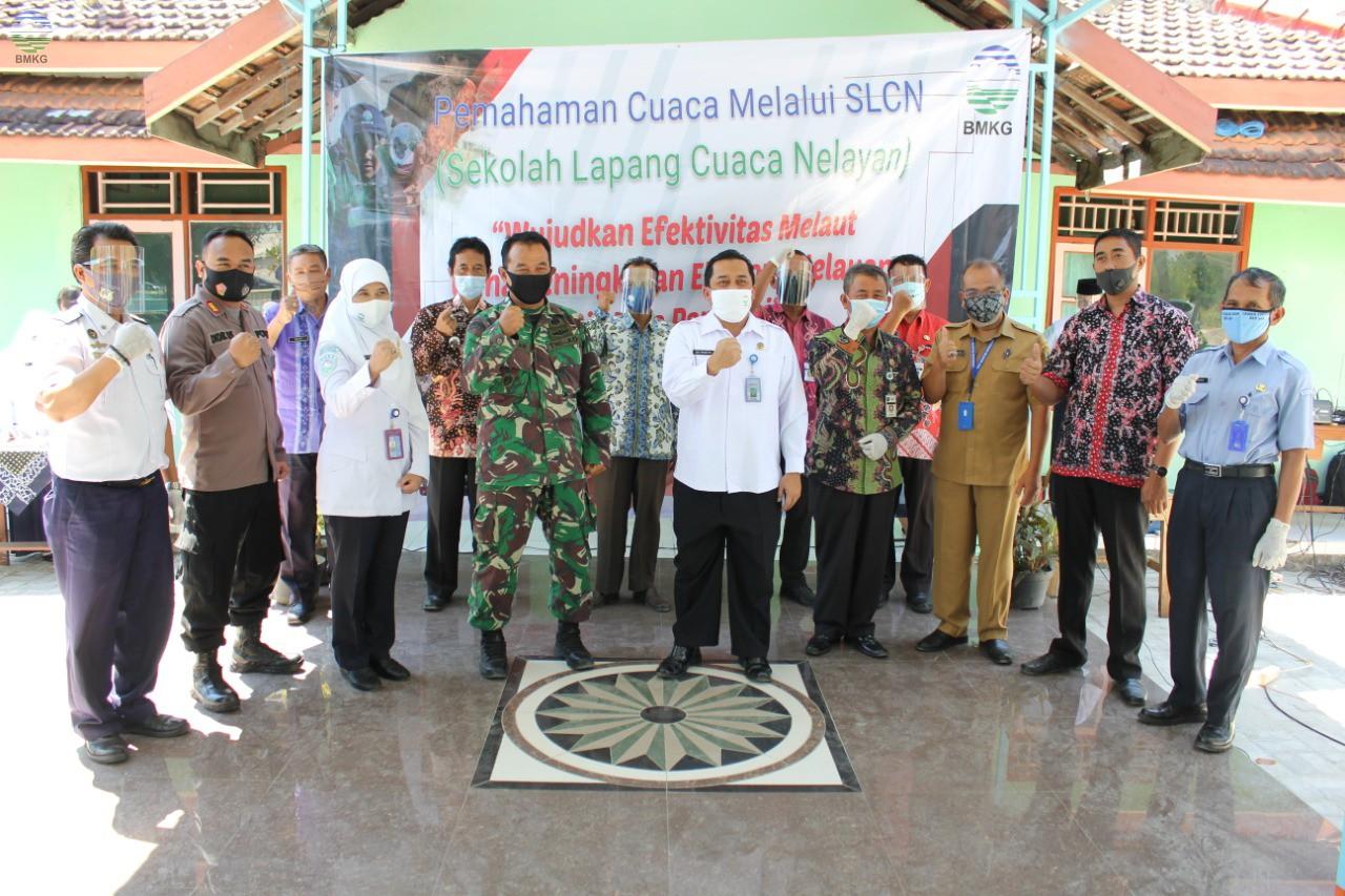 Stasiun Meteorologi Maritim Tanjung Emas Semarang Gelar SLCN 2020 di Rembang