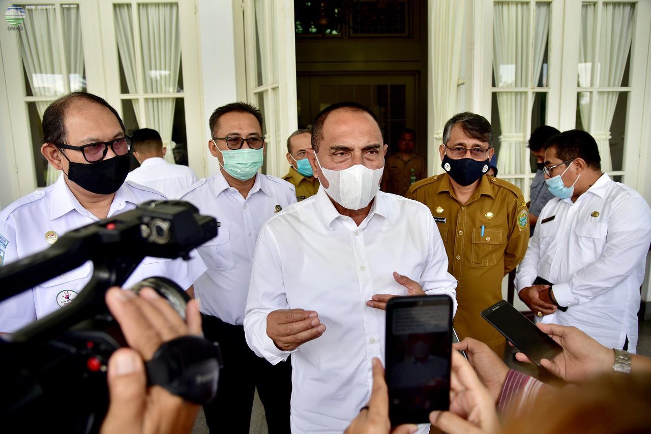 Balai Besar MKG Wilayah I Melaksanakan Kegiatan Audiensi dengan Gubernur Sumatera Utara