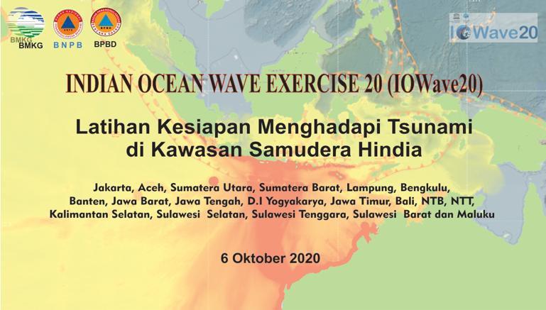 Tingkatkan Kesiapan Hadapi Tsunami di Masa Pandemi, BMKG Gelar IOWave20