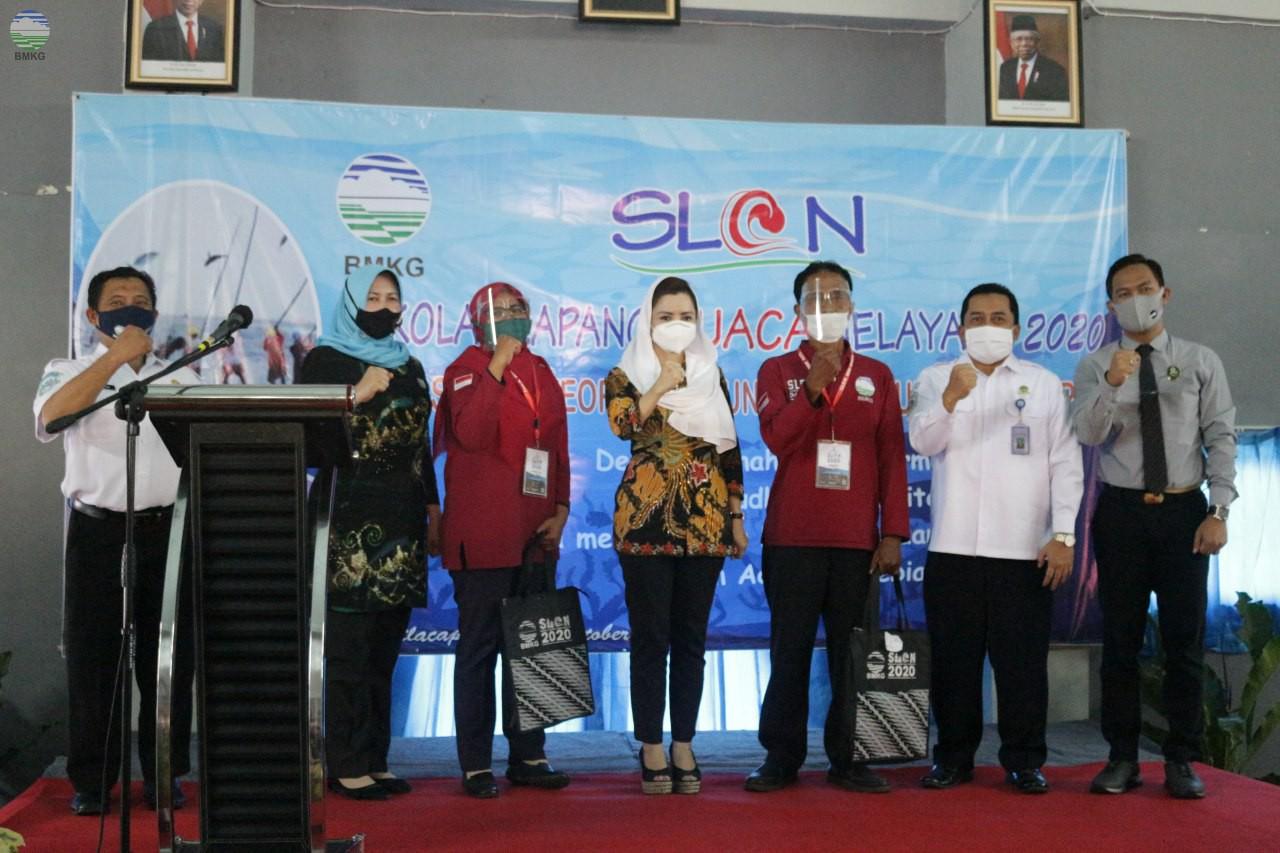 BMKG Menggelar Sekolah Lapang Cuaca Nelayan (SLCN) Kabupaten Cilacap 2020