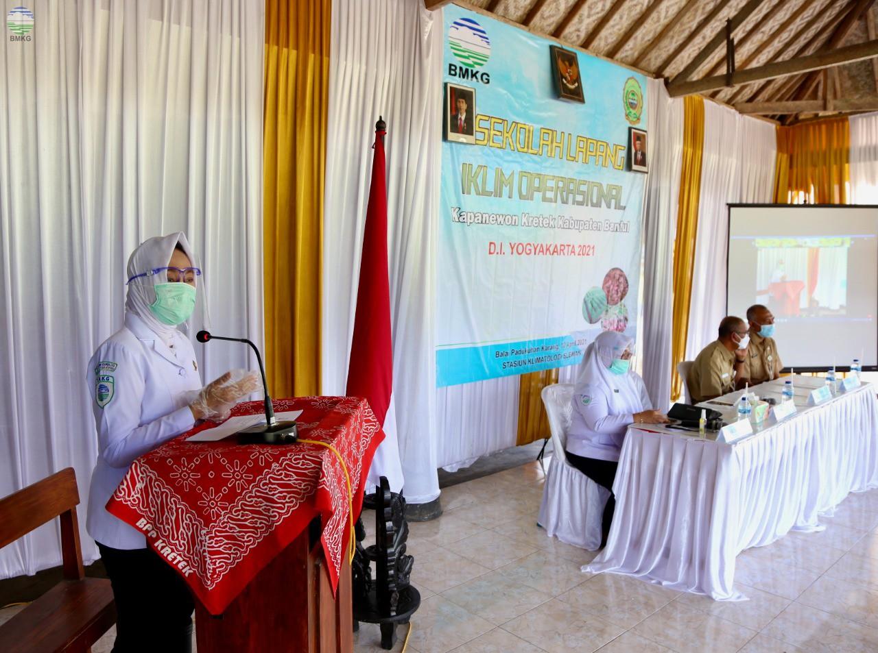 Tingkatkan Literasi Iklim ke Petani, BMKG Gelar SLI Operasional Tahap II Bantul