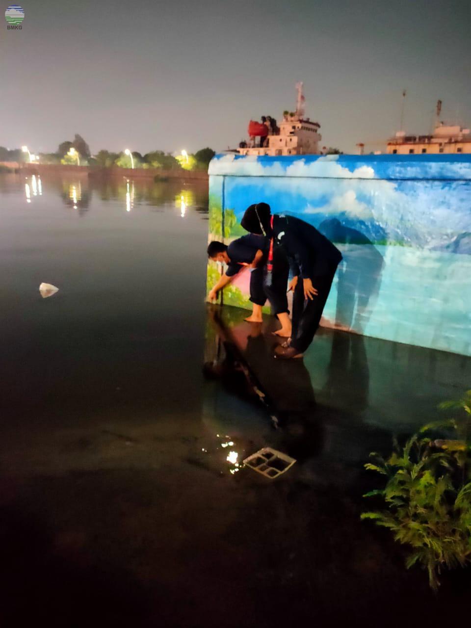 Monitoring dan Verifikasi Lapangan Kondisi Banjir Rob di Jakarta Utara dan Kepulauan Seribu