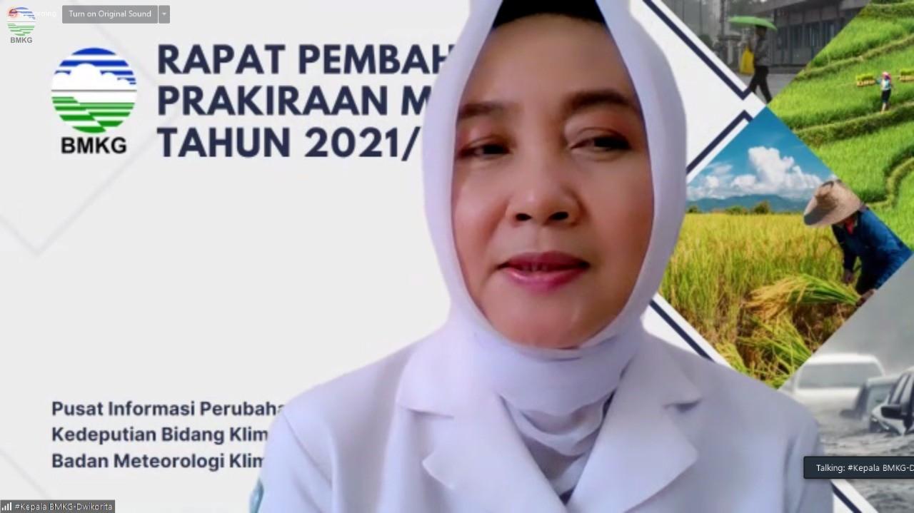 Rapat Pembahasan Prakiraan Musim Hujan Tahun 2021/2022